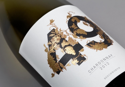 Project 49 Wine Label