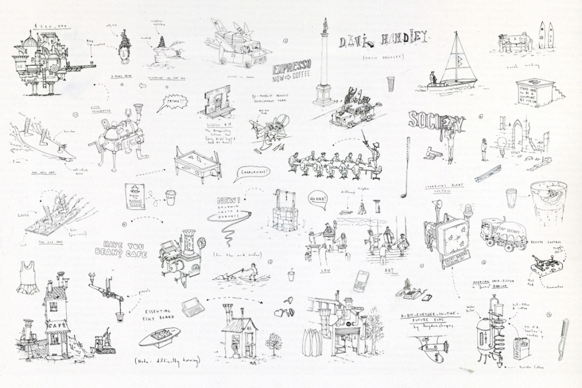 A selection of illustrations from the Nokia InHindsight book.
