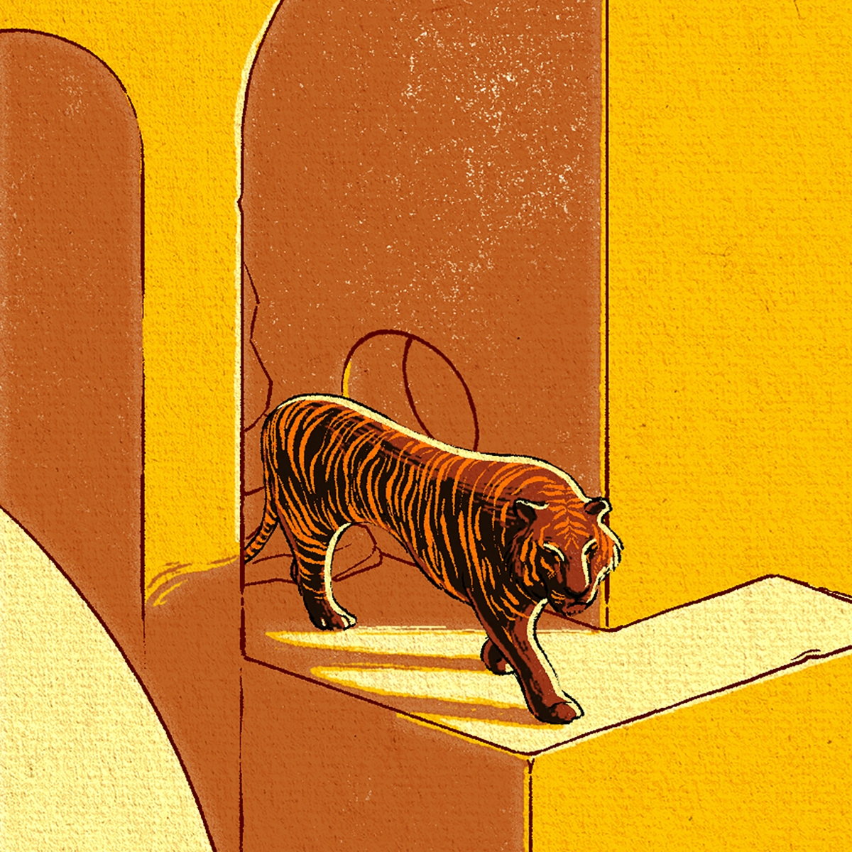 Christopher Cooper – Artistique International – 03A Tiger Detail