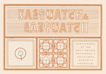 Sasquatch & Sasquatch