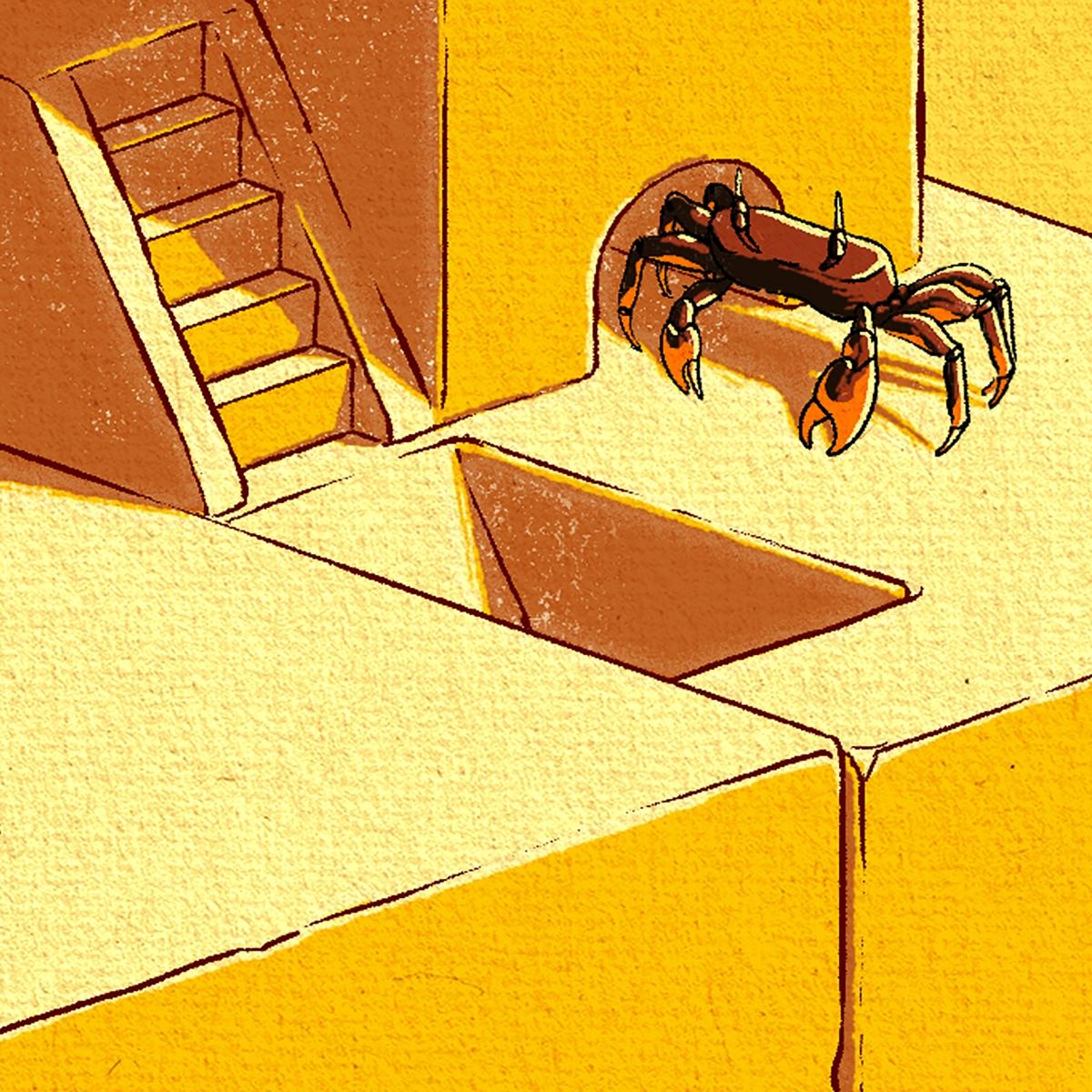 Christopher Cooper –Artistique International –03B Fancy Crab Detail