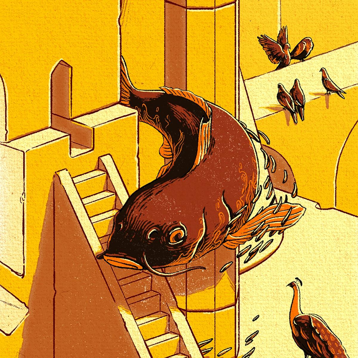 Christopher Cooper –Artistique International –03C Obligatory Carp Detail